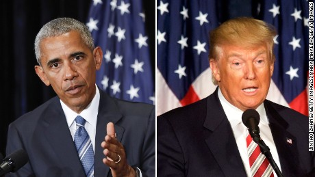 Deporting criminals is one area where President Barack Obama and President-elect Donald Trump agree.
