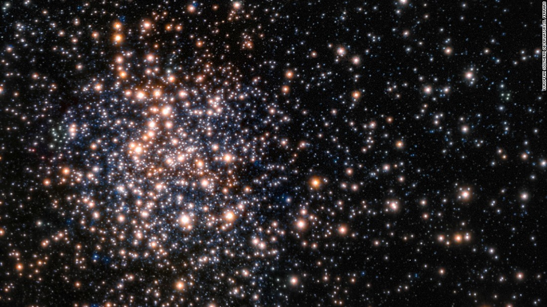Peering through the thick dust clouds of the galactic bulge, an international team of astronomers revealed the unusual mix of stars in the stellar cluster known as Terzan 5. The new results indicate that Terzan 5 is one of the bulge's primordial building blocks, most likely the relic of the very early days of the Milky Way.