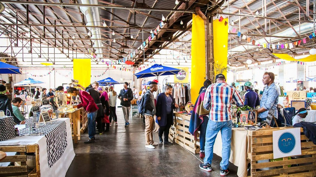 Housed in Pretoria's old vegetable market, Market @ The Sheds is a venue that combines street food, design, music and art. It's usually held on the last Saturday of the month.