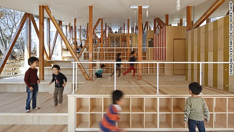 Hakusui Nuersery School, Chiba, Japan.
