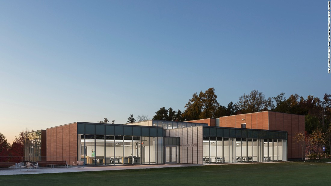 Back to school design tips from best looking schools cnn for Architecture schools in nj