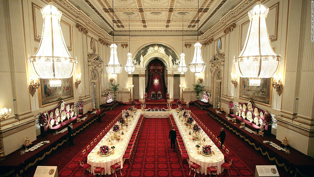 Uk government rebuffs petition to downgrade trump 39 s visit - Salon de the palais royal ...