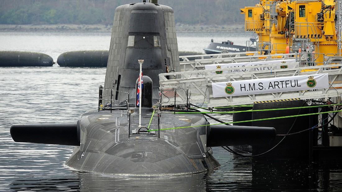 A Royal Navy submarine like the newly commissioned HMS Artful could be the successful applicant's new home.