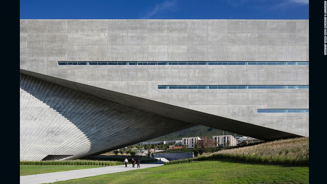 "This 300-student art, design and architecture facility at the University of Monterrey in Mexico has 21 laboratories, three exhibition spaces, two amphitheaters and multipurpose indoor and outdoor spaces. The building received a commendation in the Higher Education and Research Award at the <a href=""https://www.worldarchitecturefestival.com"" target=""_blank"">2013 World Architecture Festival</a>."