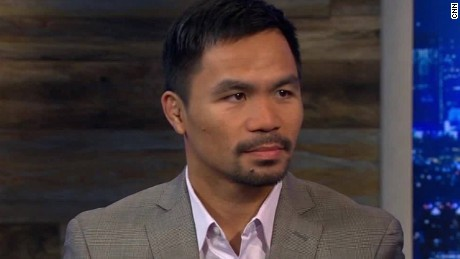 philippine president manny pacquiao intv_00000000