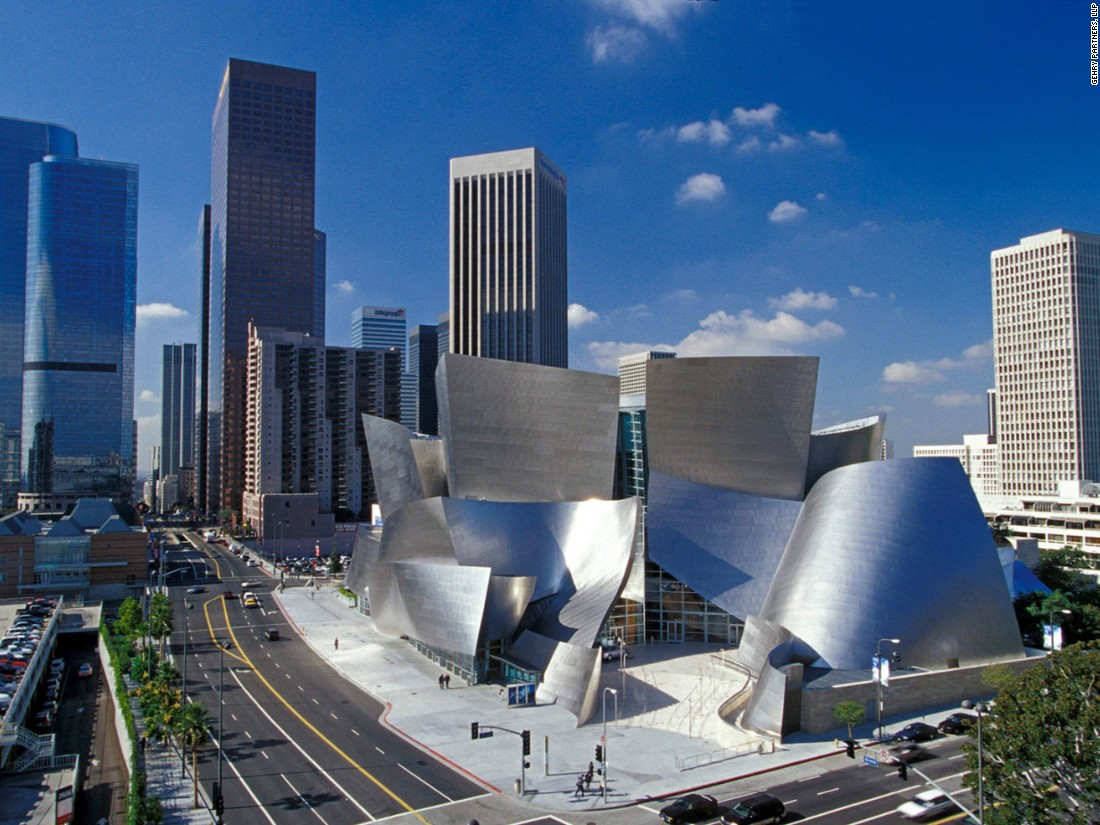 The sweeping stainless steel curves of the Frank Gehry-designed Walt Disney Concert Hall have become a landmark of Downtown LA since its opening in 2003. Sixteen years in the making, the concert hall cost twice its initial budget but ranks among the best acoustic designs in the world. In contrast to its contemporary exterior, the main auditorium is made from hardwood for better acoustic performance.