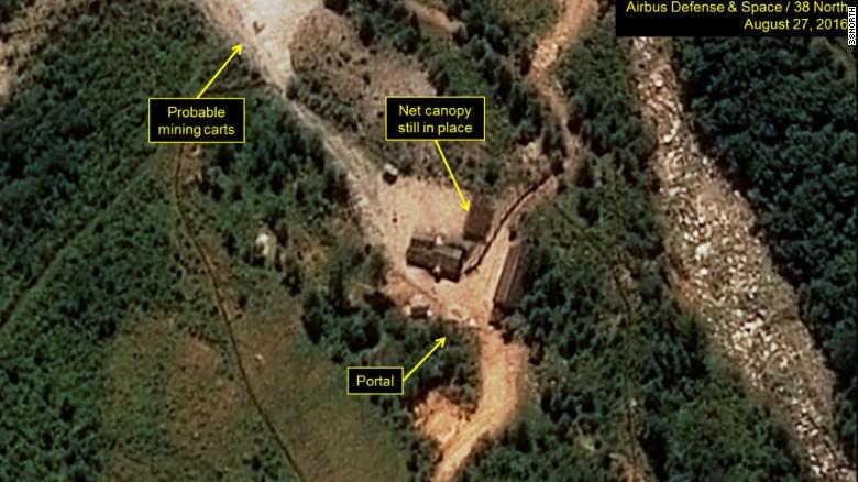 North Korea says it's tested a nuclear warhead