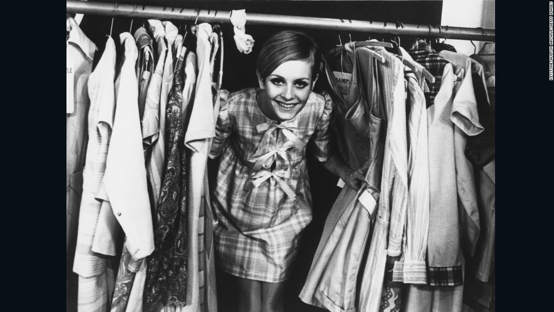 """The ability in this era for the youth to create their own identity was new. Before then, you grew up to be your parents. Being a teenager didn't have much of a distinction. But suddenly there were boutiques for young people,"" Broackes said. <br />""Twiggy was the face of 1966 when she was 16, and she was from Neasden, a suburb of London, presenting a much more democratic, open society for everybody, not just certain people."""