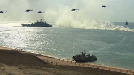 Crimea war games Pleitgen pkg_00000022.jpg