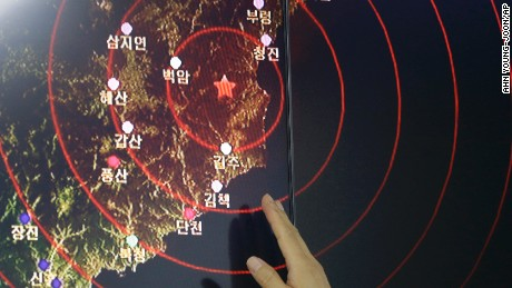 North Korea's nuclear tests: A timeline