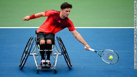 Related: Roger Federer inspires wheelchair ace