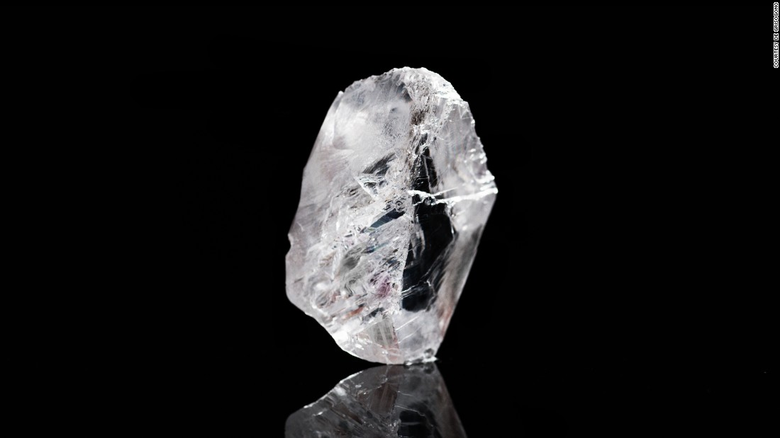 "This 1,109 carat, tennis ball-sized diamond made headlines in November 2015 when it was <a href=""http://edition.cnn.com/2016/09/09/luxury/most-expensive-rough-diamond/"">pulled</a> out of the Karowe Mine, in Botswana, by Canadian company Lucara Diamond Corp."