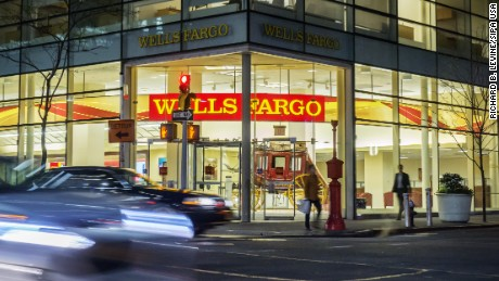 A branch of Bank of America in New York on Thursday, April 21, 2016. Federal regulators have fined Wells Fargo $185 million for secretly opening unauthorized accounts in order to boost sales figures and income. The bank must also pay $5 million in restitution and has fired 5300 employees involved.