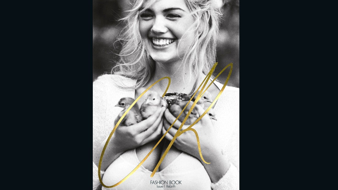 """English model Kate Upton was shot by Bruce Weber for the very first issue of CR Fashion Book, which Roitfeld described as her """"laboratory of dreams""""."""
