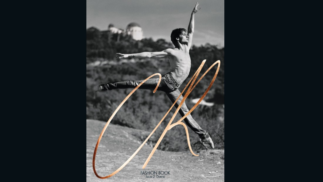 Ballet star Sergei Polunin was photographed by director Gus van Sant to cover the second issue.