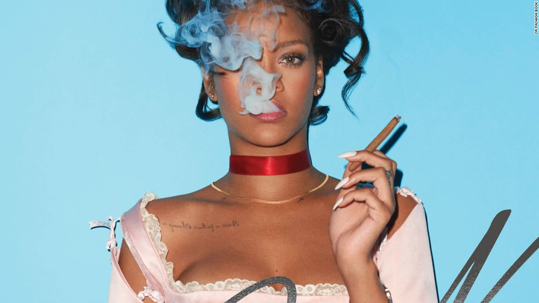 Rihanna channels Marie Antoinette in CR Fashion Book