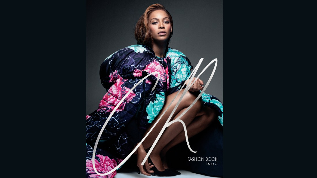 Photographed by Pierre Debusschere, Beyonce was the cover star for the fifth issue, with guest creative direction by Riccardo Tisci.