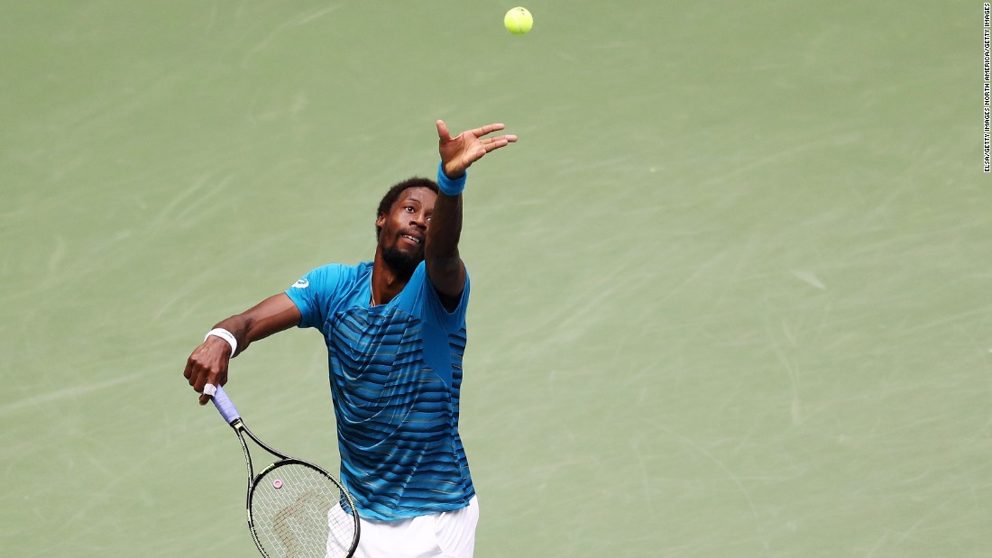 With the first two-plus sets a blowout, Monfils was booed by some sections of the crowd.