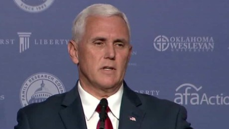 Pence: Trump backers not 'basket of anything'