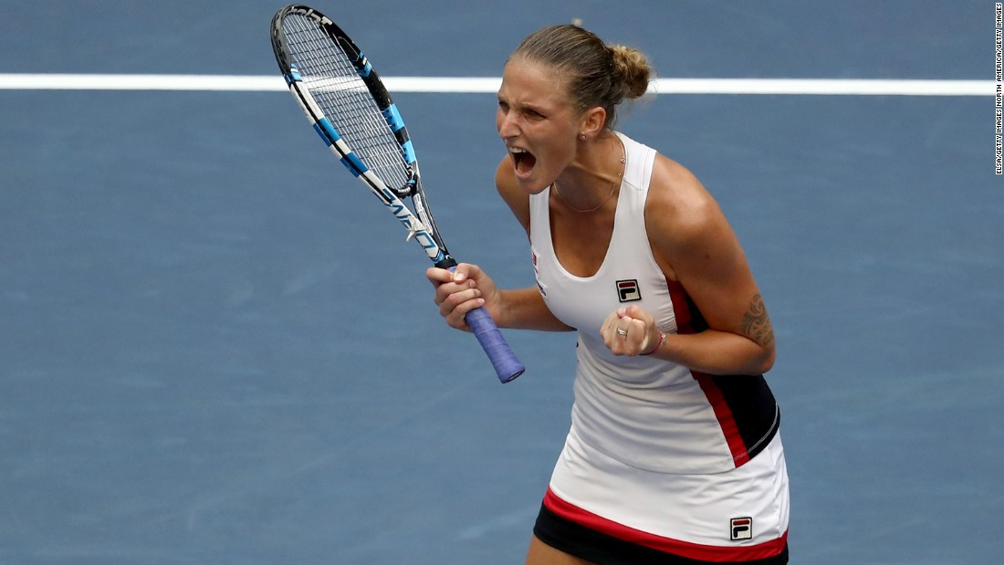 Karolina Pliskova was the player who upset Williams at the US Open en route to a maiden grand slam final. The Czech leads the women's tour in aces.