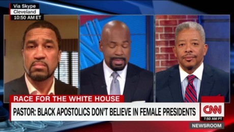 Pastor: black apostolics don't believe in female presidents _00015829.jpg