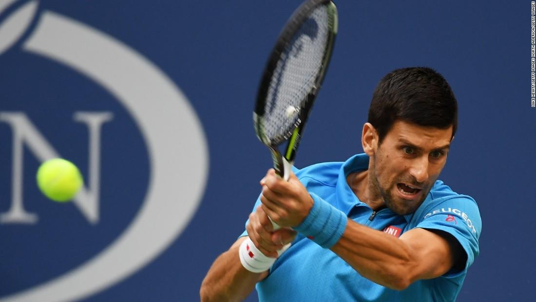 Djokovic made the better start, up 4-1. He looked very sharp.