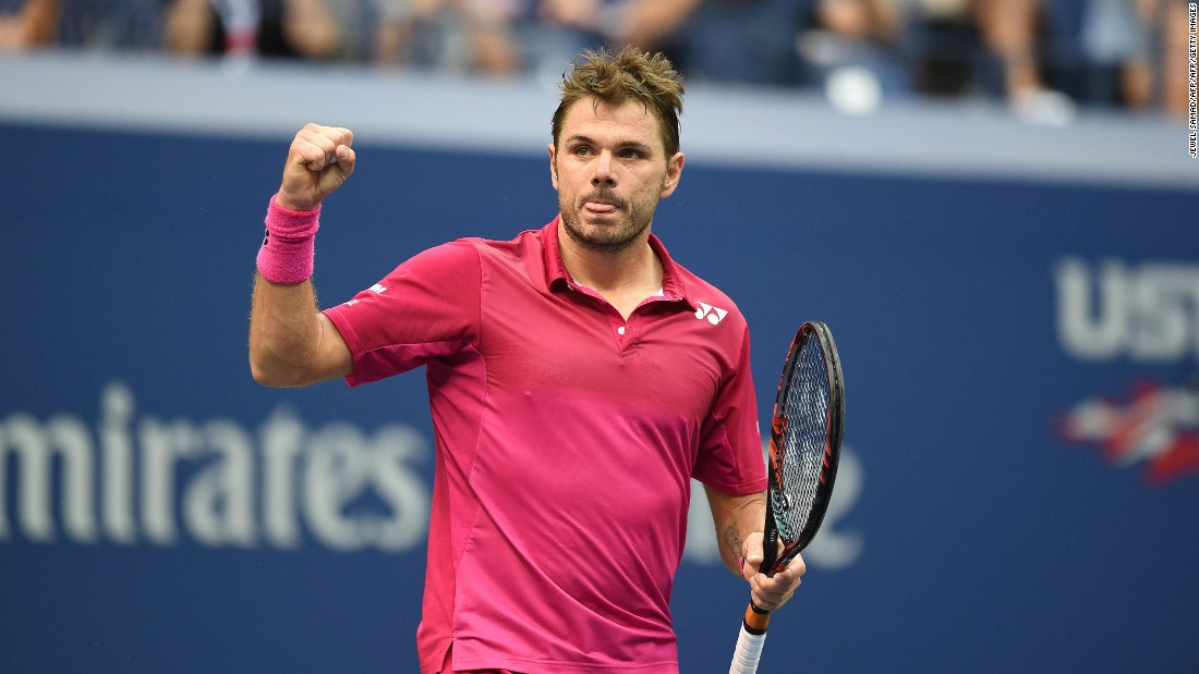 Wawrinka rallied, though. He broke early in the second when Djokovic hit two double faults in one game.