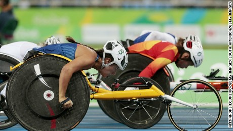 Hannah McFadden, adopted from Albania, was born without a femur in her left leg. Competing side by side in three events, the McFaddens could become the first sisters to finish side-by-side on the podium in Paralympic history.