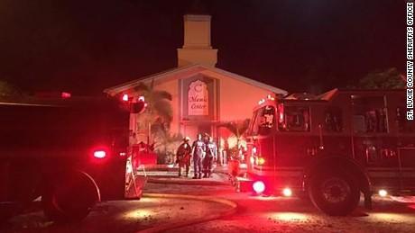 Joseph Schreiber, 32, set fire to the Islamic Center of Fort Pierce on the evening of September 11, 2016.
