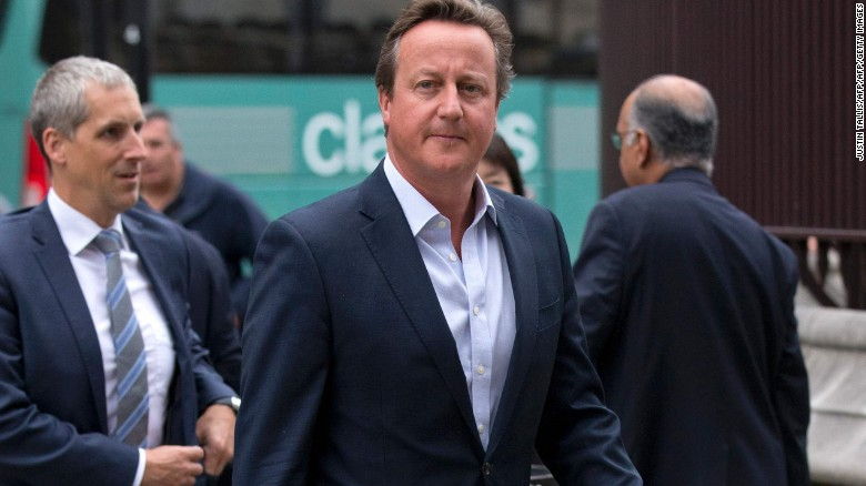 David Cameron resigns parliament seat