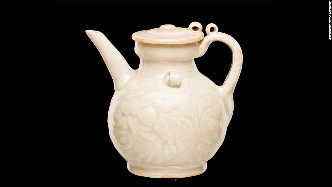 Early Chinese porcelain was made from a mix of kaolin and petuntse (a type of rock). It would be centuries before European craftsman would be able to make it themselves.