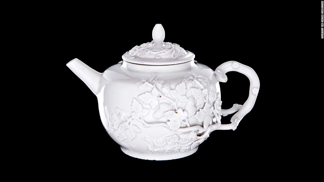 Silversmith J.J. Irminger took inspiration from Chinese and Japanese porcelain work, as well as European silver objects.
