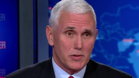 Pence: Trump under no obligation to release tax returns