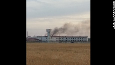 No staff members were injured and no inmates were hospitalized, officials said.