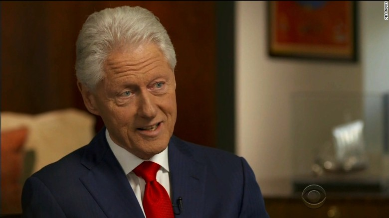 Bill Clinton explains Hillary's health scare