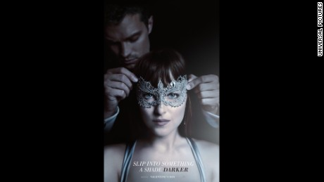 """Fifty Shades Darker"" hits theaters in February."