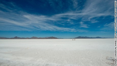 The Bonneville Salt Flats house dramatic skylines.