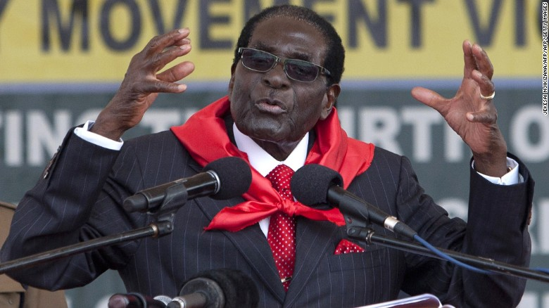 Young Zimbabweans face up to Robert Mugabe