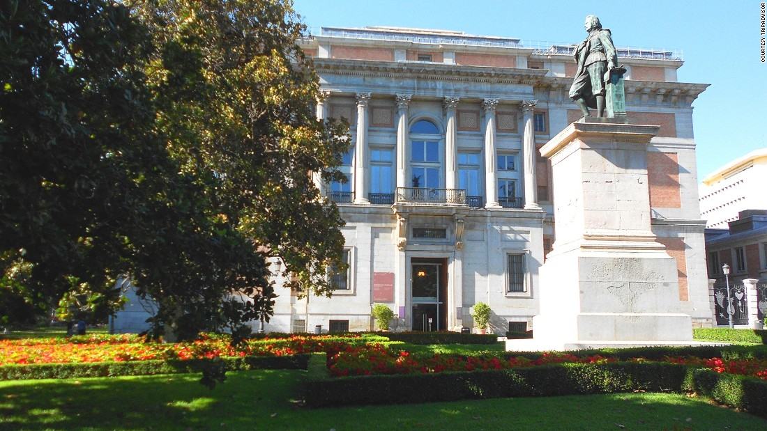 Madrid's Prado plays host to striking work by Francisco Goya and Hieronymous Bosch.