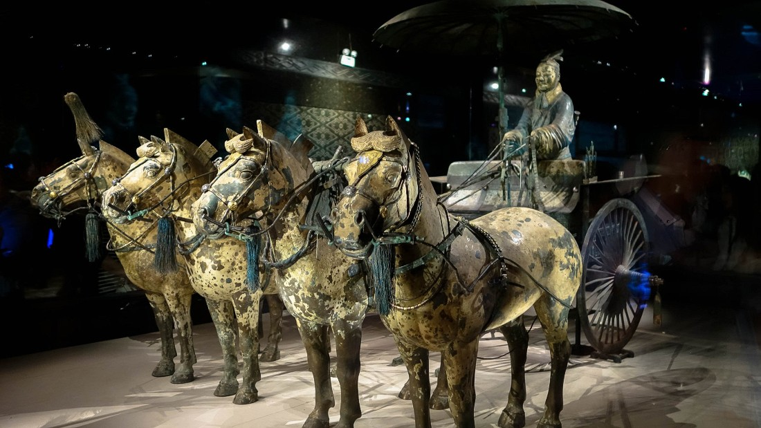 terra cotta soldiers of the qin Some secrets of china's terra-cotta army are baked in the clay the pieces were taken from 12 terra-cotta warriors science news magazine.