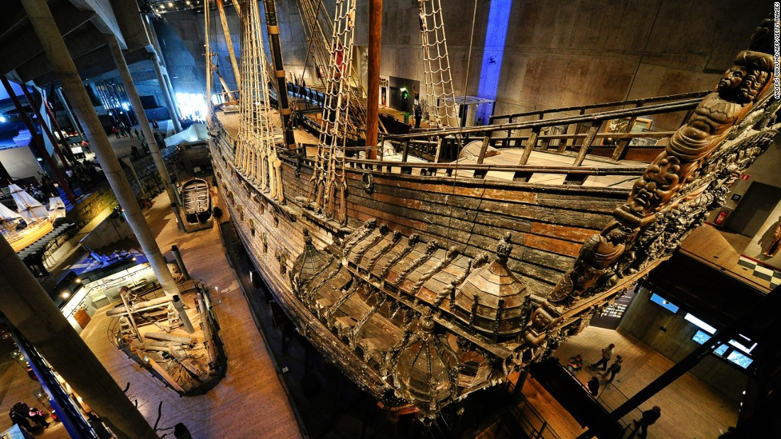 TripAdvisor has revealed its Traveler's Choice world's best museum awards. In 10th place is Stockholm's Vasa Museum. The maritime showcase takes its name from the prize exhibit, an almost completely intact 17th-century ship. The Vasa sank on her maiden voyage in 1628, but 333 years later, the warship was salvaged.