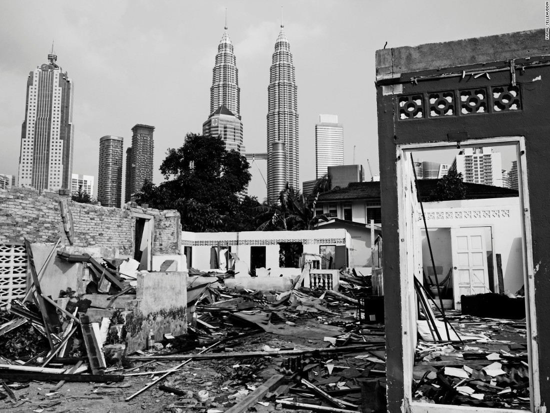A village lost in time, Kampung Baru is an estate located in the heart of Malaysia's capital, Kuala Lumpur, which has resisted modern architectural development.