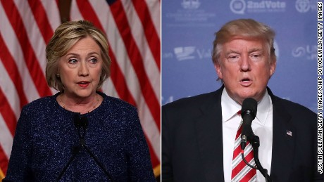 Trump and Clinton disagree on battling terrorism