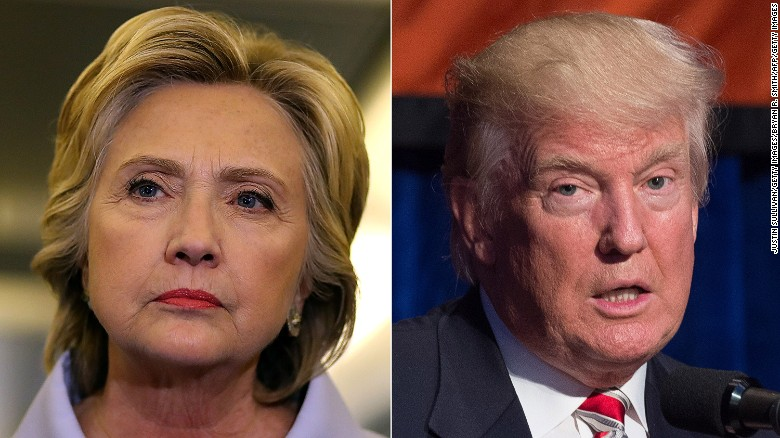 CNN/ORC polls: Trump leads Clinton in Florida, Ohio