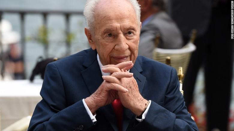 Former Israeli President Shimon Peres hospitalized