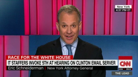 Eric Schneiderman Clinton Supporter The Lead_00011305