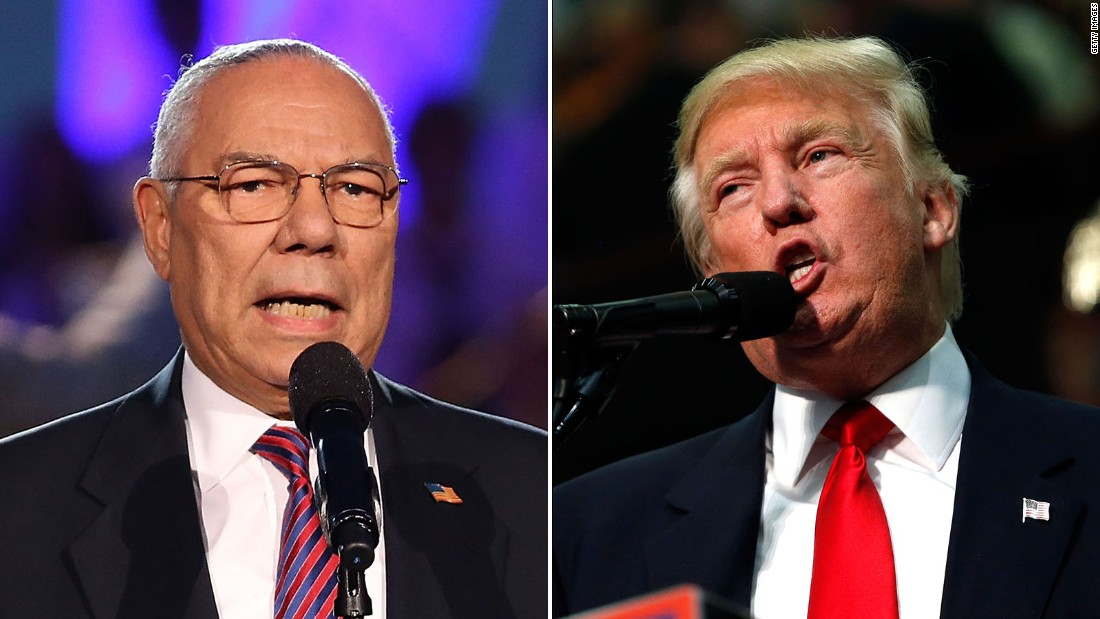 Colin Powell: Donald T...