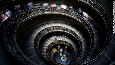 Flights of fancy: The world's most sublime spiral staircases