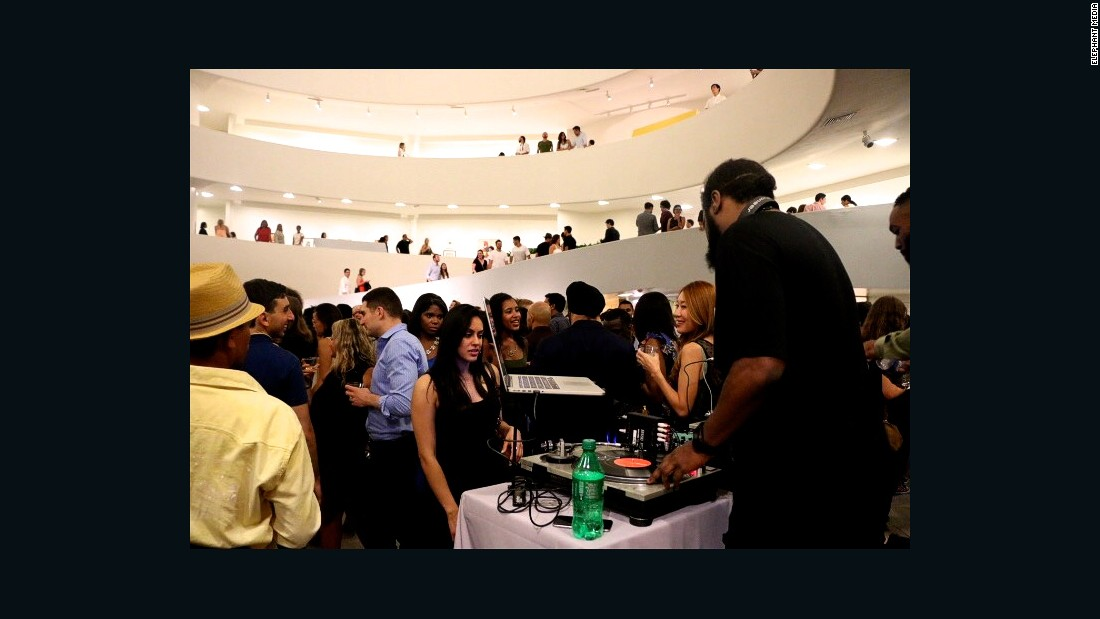 "Moma is a regular fixture at <a href=""https://www.guggenheim.org/event/event_series/art-after-dark"" target=""_blank"">Art after Dark</a>, a popular event at the Solomon R. Guggenheim Museum"