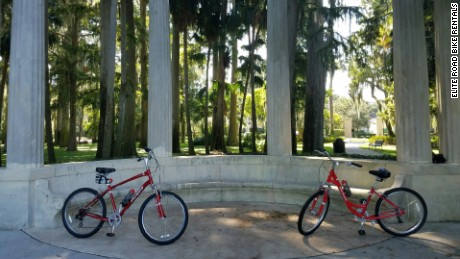 Bike tours give visitors a taste of the quieter side of Orlando.